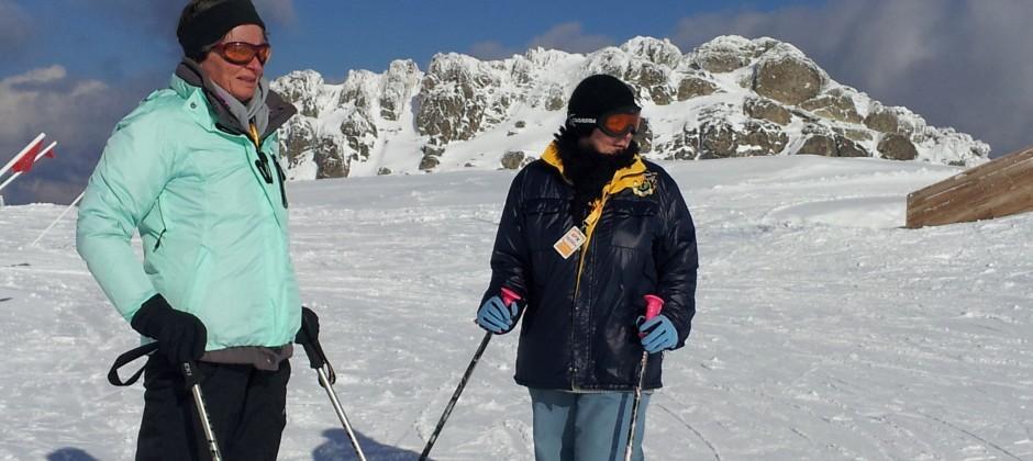 Mit der BRÜCKE zum Skifahren nach Kartalkaya