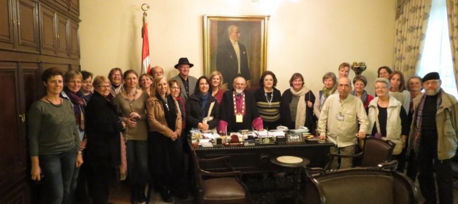 Unsere Führung zur Jüdischen Gemeinde Beyoğlu am 13.11.2013