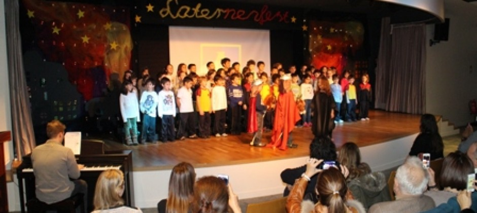 Laternenfest an der ALKEV Schule